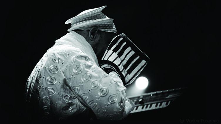 Le pianiste cubain Omar Sosa en trio avec Paolo Fresu et Trilok Gurtu  (Marion Tisserand)
