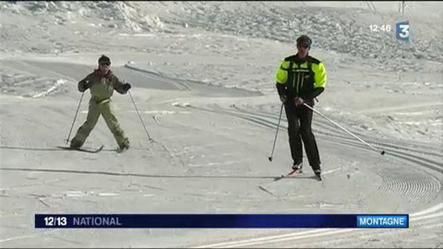 Neige : les joies du ski de fond