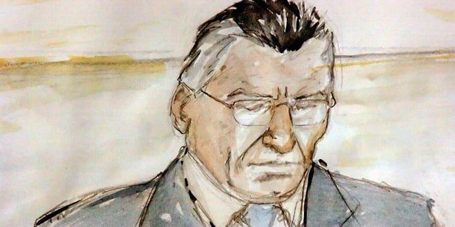 Marc Cécillon lors de son procès