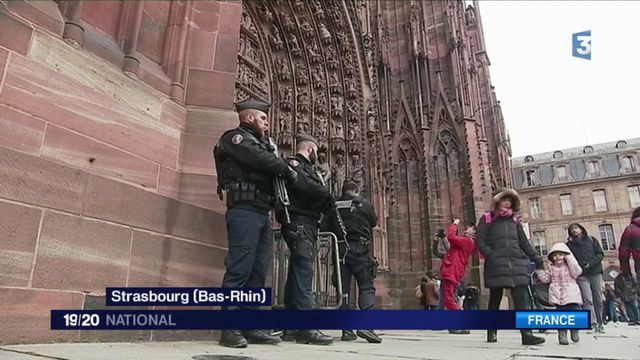 Messe de Noël : la cathédrale de Strasbourg sous haute sécurité
