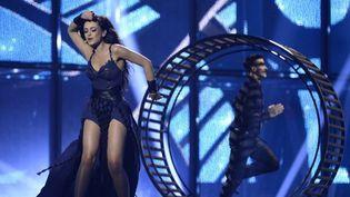 Maria Yaremchuk, la représentante de l'Ukraine pour l'Eurovision 2014  (JONATHAN NACKSTRAND)