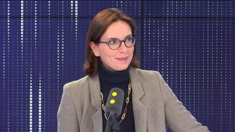 Amélie de Montchalin, secrétaire d'État chargée des Affaires européennes, était l'invitée de franceinfo lundi 28 octobre. (FRANCEINFO / RADIOFRANCE)