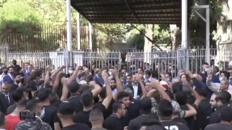 Liban : une manifestation dégénère à Beyrouth. (FRANCEINFO)