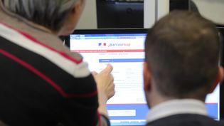 Présentation de la plateforme Parcoursup dans un établissement de Strasbourg (Bas-Rhin), le 22 janvier 2018. (MAXPPP)