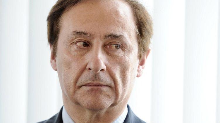 Didier Gailhaguet, président de la Fédération française des Sports de Glace (MIGUEL MEDINA / AFP)