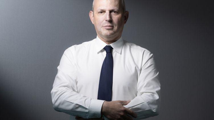 Le directeur général de la santé, Jérôme Salomon, le 2 juin 2020 à Paris. (JOEL SAGET / AFP)