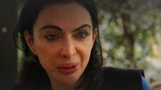 Oriane Zerah, une photographe française rapatriée depuis Kaboul (Afghanistan), dans un sujet diffusé le 29 août 2021 sur France 2. (FRANCE 2)