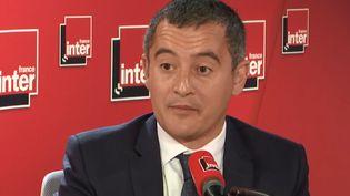 Gérald Darmanin,ministre de l'Action et des Comptes publicsinvité de France Inter, mercredi 25 septembre 2019. (Gérald Darmanin)