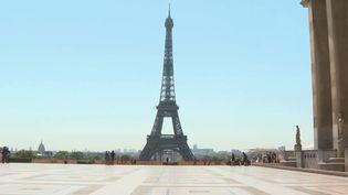 Tourisme : Paris désertée (France 2)