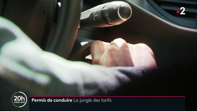 Permis de conduire : des tarifs flous pointés du doigt