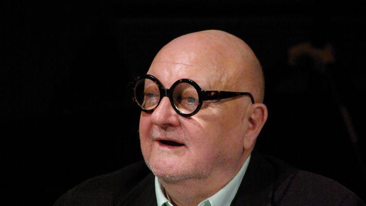 Jean-Pierre Coffe, le 8 janvier 2009, à, Paris. (FRANÇOIS LOOCK / CITIZENSIDE / AFP)