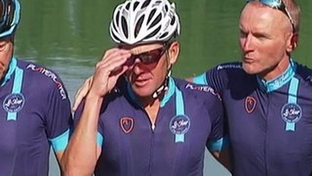 Lance Armstrong : le champion déchu retrouve la route du Tour