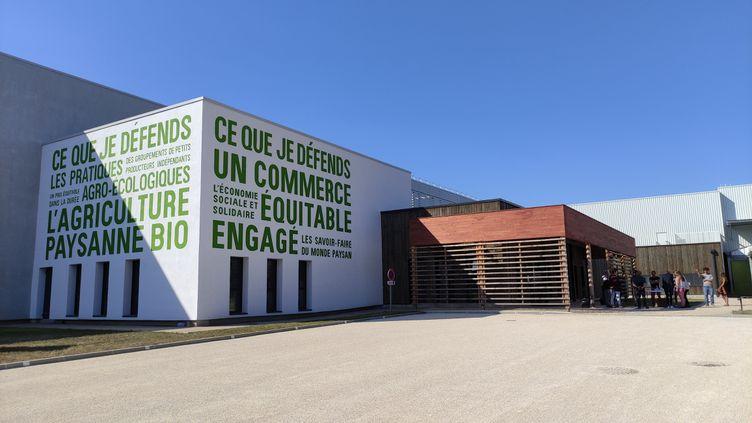 L'usine d'Ethiquable à Fleurance dans le Gers. (PAOLA GUZZO / RADIO FRANCE)