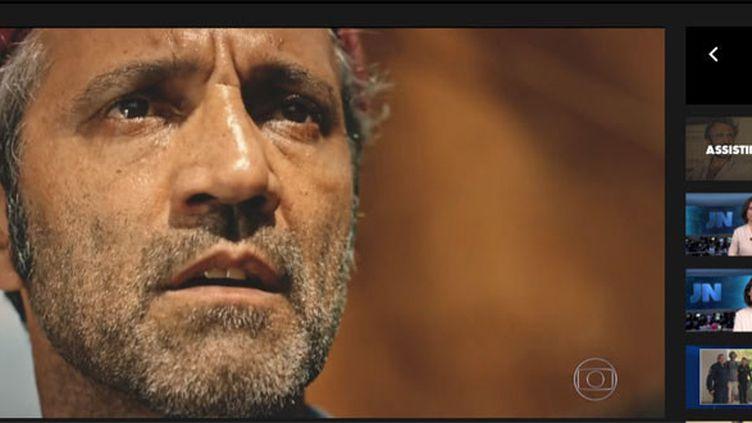 "Globo rend hommage à Domingos Montagner, héros de sa telenovela ""Velho Chico""  (capture d'écran Globo)"