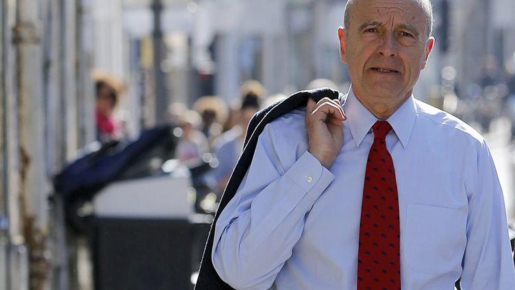 Le maire UMP de Bordeaux, Alain Juppé, le 20 mars 2014, à Bordeaux (Gironde). ( REGIS DUVIGNAU / REUTERS)