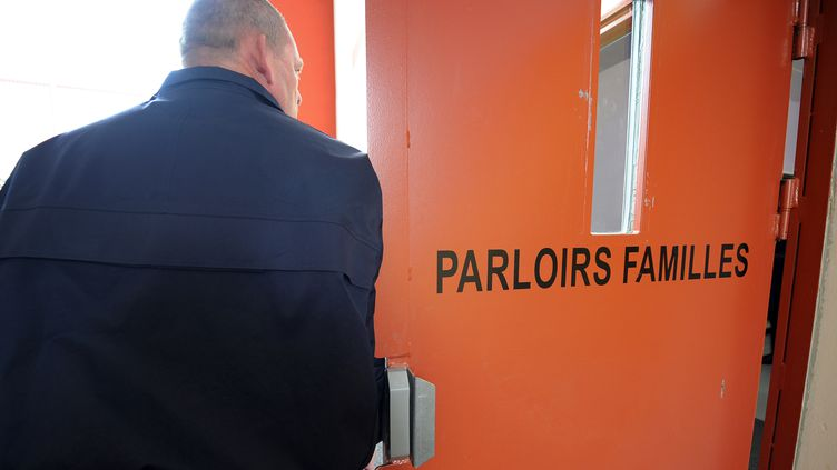 L'entrée d'un parloir de prison, illustration. (DENIS CHARLET / AFP)