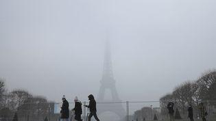 Le 23 janvier 2017, à Paris. (LUDOVIC MARIN / AFP)