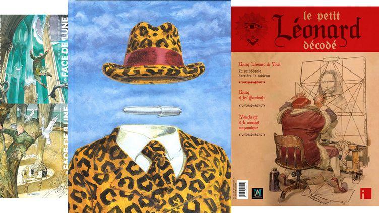 BOUCQ, D'ART D'ART (BOUCQ, LE LOMBARD / BOUCQ, LE LOMBARD / BOUCQ, LE LOMBARD / BOUCQ, I EDITIONS)