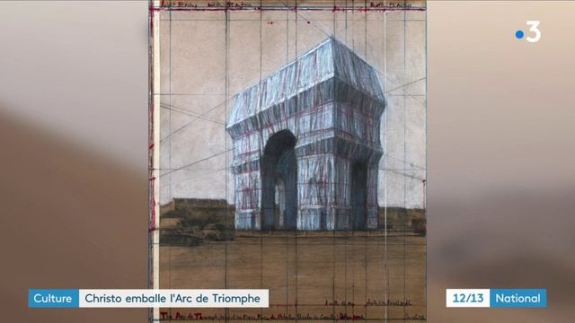 Art : Christo va emballer l'Arc de Triomphe