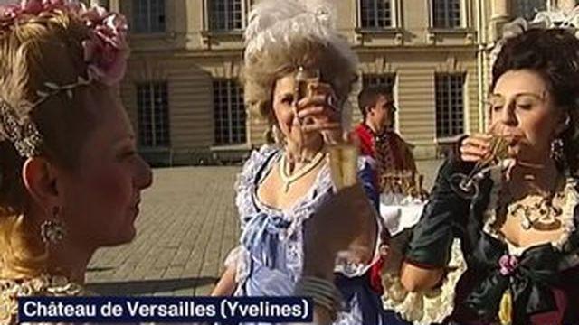 Fête galante : le Château de Versailles comme au temps de Louis XIV