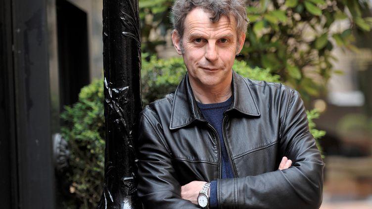 Le réalisateur belge Lucas Belvaux, le 22 avril 2014, à Paris. (MAXPPP)