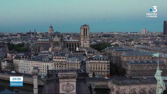Confinement : un an après l'incendie, le chantier de reconstruction de Notre-Dame est à l'arrêt