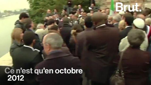Des dizaines d'Algériens jetés dans la Seine par la police française. Ça s'est passé le 17 octobre 1961.