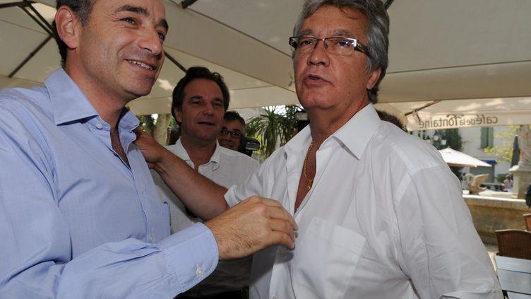Le député UMP Bernard Reynès, le 10 juillet 2011 à Châteaurenard (Bouches-du-Rhône). (MAXPPP)