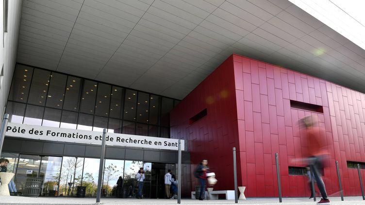 L'université de médecine de Caen (Calvados), le 20 octobre 2017. (MAXPPP)