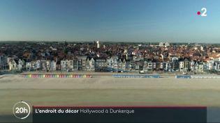 """Christopher Nolan a réalisé le gros succès """"Dunkerque"""", filmé dans la ville nordiste. Ce film retrçant l'évication des soldats britanniques pendant la Seconde Guerre mondiale a marqué les habitants. (France 2)"""