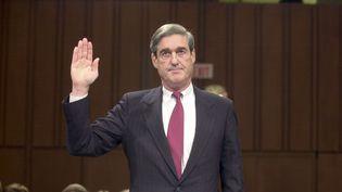 Le procureur spécial Robert Mueller, le 17 mai 2017 à Washington. (SHUTTERSTOCK / SIPA)