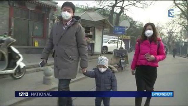 Pollution : Pékin et le nord de la Chine toujours en alerte rouge