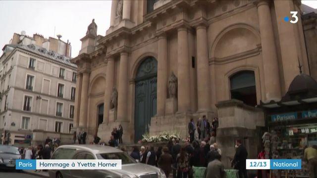 Paris : les obsèques d'Yvette Horner célébrées