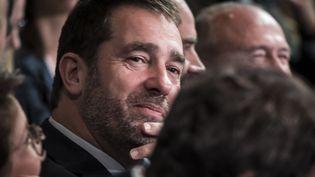 Christophe Castaner, éludélégué général de La République en marche, à Lyon (Rhône), le 18 novembre 2017. (JEAN-PHILIPPE KSIAZEK / AFP)