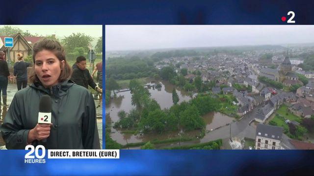 Eure : les habitants de Breteuil s'attendent à de nouvelles inondations