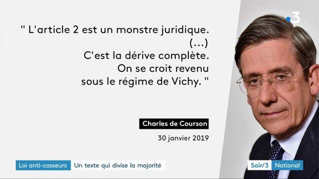 """La loi """"anti-casseurs"""" provoque la colère de députés et proches de Macron"""