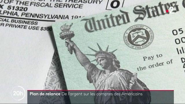 Etats-Unis : un plan de relance massif donne un coup de pouce à 280 millions d'Américains