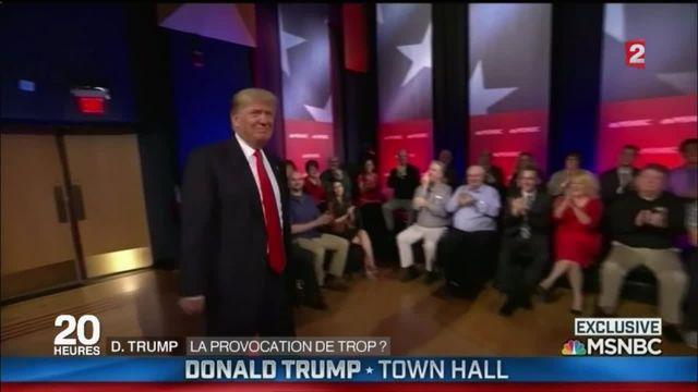 Donald Trump : un dérapage qui peut laisser des traces