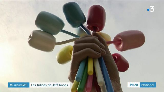 Culture : Les tulipes de Jeff Koons inaugurées à Paris