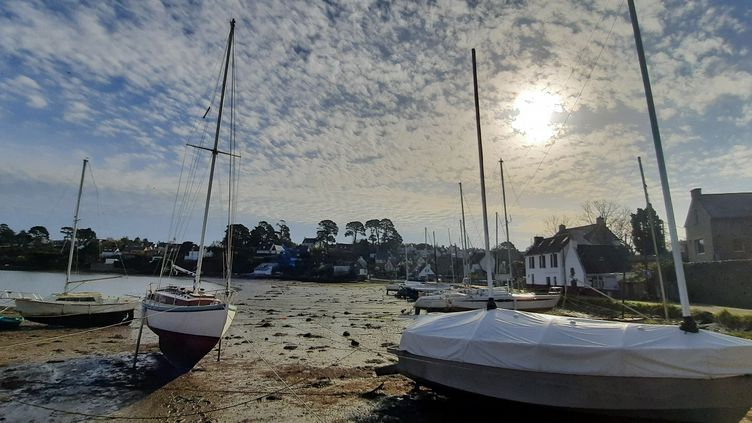 L'Ile-aux-Moines (Morbihan), le 25 février 2021. (BENJAMIN  ILLY / RADIOFRANCE)