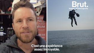 VIDEO. Rencontre avec Richard Browning, l'inventeur du Jet Suit (BRUT)