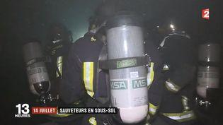 France 2 a suivi le quotidien d'une unité de pompiers spécialisée dans les interventions souterraines. (FRANCE 2)