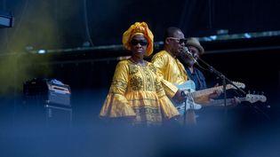 A Toulouse, Amadou & Mariam ont ouvert le bal de Rio Loco 2021 (Frédéric Scheiber / Hans Lucas / Hans Lucas via AFP)