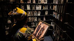 Le mémorial du génocide rwandais à Kigali le 29 avril 2018. (YASUYOSHI CHIBA / AFP) (YASUYOSHI CHIBA / AFP)