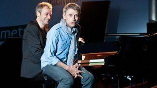 Laurent de Wilde hilare, Jacques Gamblin fait son show... (10/06/2012)  (Paul Charbit)