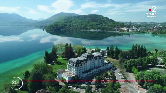 Déconfinement : le lac d'Annecy reprend vie
