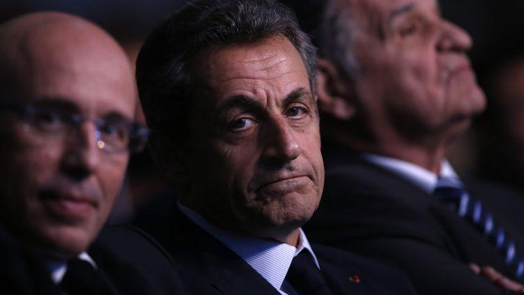 (Nicolas Sarkozy a ainsi été entendu toute la journée par le juge financier Serge Tournaire © MaxPPP)