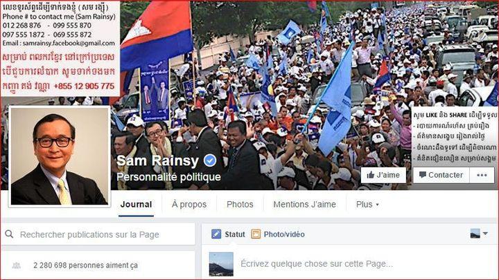 Capture d'écran Facebook (DR)