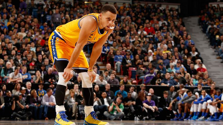 Stephen Curry (Golden State Warriors) (EZRA SHAW / GETTY IMAGES NORTH AMERICA)