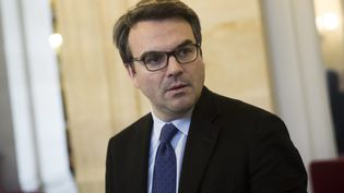 Le député Thomas Thévenoud à l'Assemblée nationale, le 16 décembre 2015. (MAXPPP)